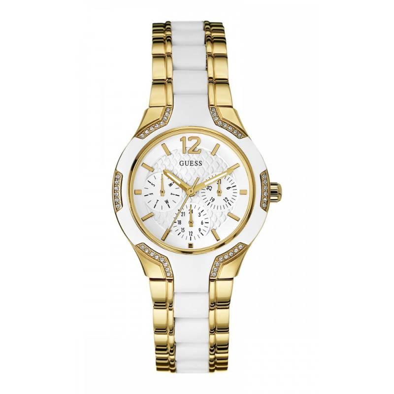 Γυναικείο ρολόι Guess επίχρυσο W0556L2 W0556L2 Ατσάλι