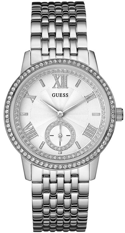 Γυναικείο ρολόι Guess με κρύσταλλα W0573L1 W0573L1 Ατσάλι