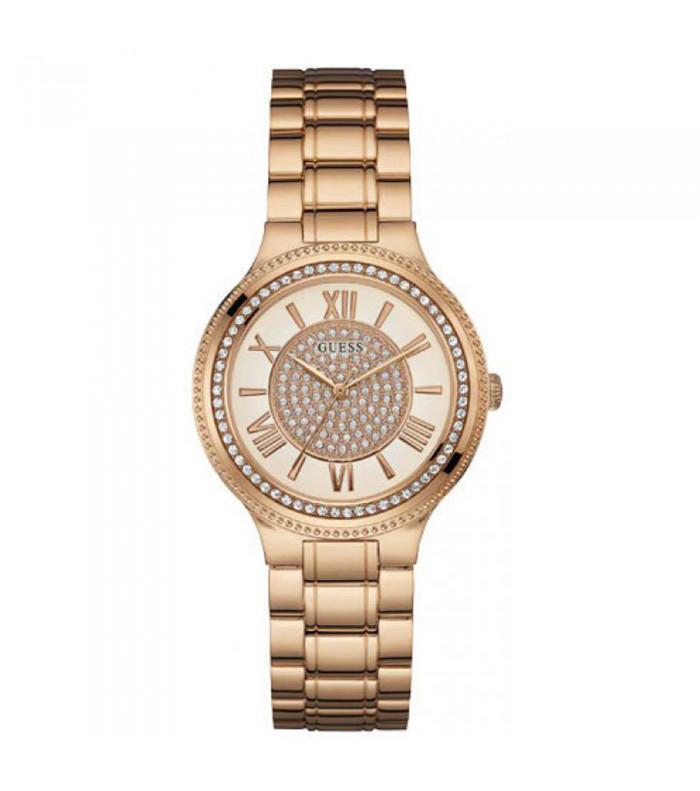 Ροζ gold ρολόι Guess με πέτρες W0637L3 W0637L3 Ατσάλι