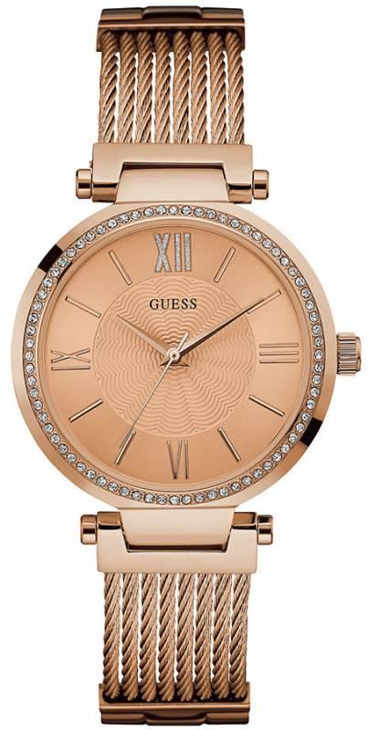 Ρολόι γυναικείο Guess crystals rose gold W0638L4 W0638L4 Ατσάλι