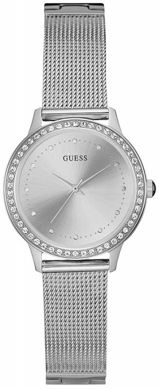 Γυναικείο ρολόι χειρός Guess stainless steel with crystals W0647L6 W0647L6 Ατσάλι