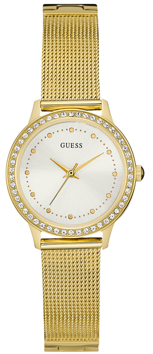 Guess Ladies Watch Gold Stainless Steel W0647L7 W0647L7 Ατσάλι