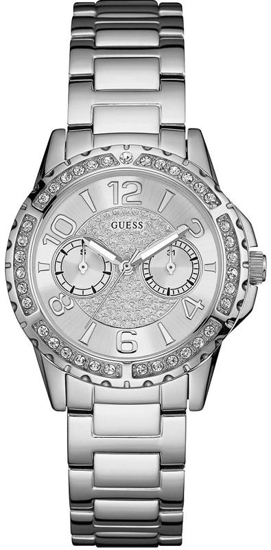 Γυναικείο ρολόι χειρός ατσάλινο Guess W0705L1 W0705L1 Ατσάλι