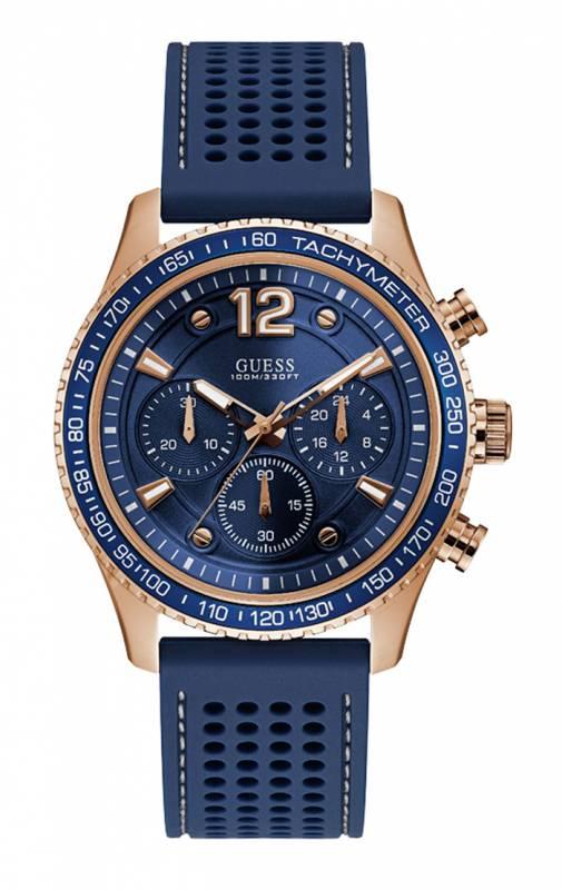 Guess ρολόι ανδρικό μπλε Chronograph W0971G3 W0971G3 Ατσάλι