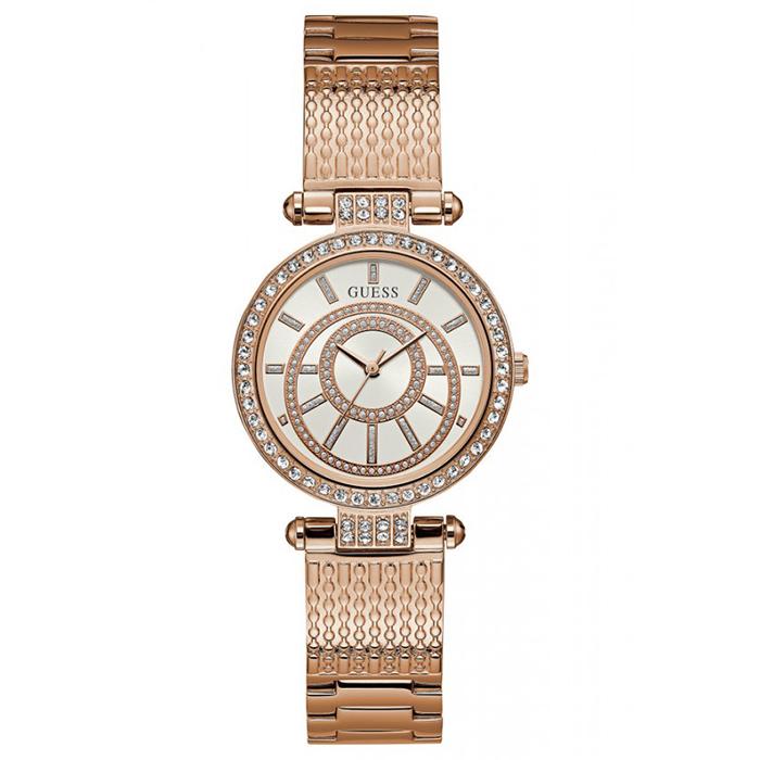 Ροζ gold γυναικείο ρολόι W1008L3 W1008L3 Ατσάλι
