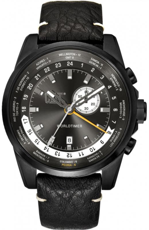 Αντρικό ρολόι Caterpillar Worldtimer WT16534522 WT16534522 Ατσάλι