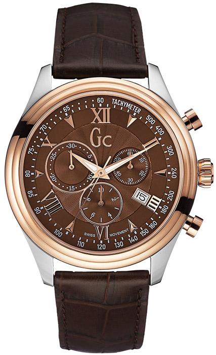 Ανδρικό ρολόι Gc χρονογράφος Y04003G4 Y04003G4 Ατσάλι