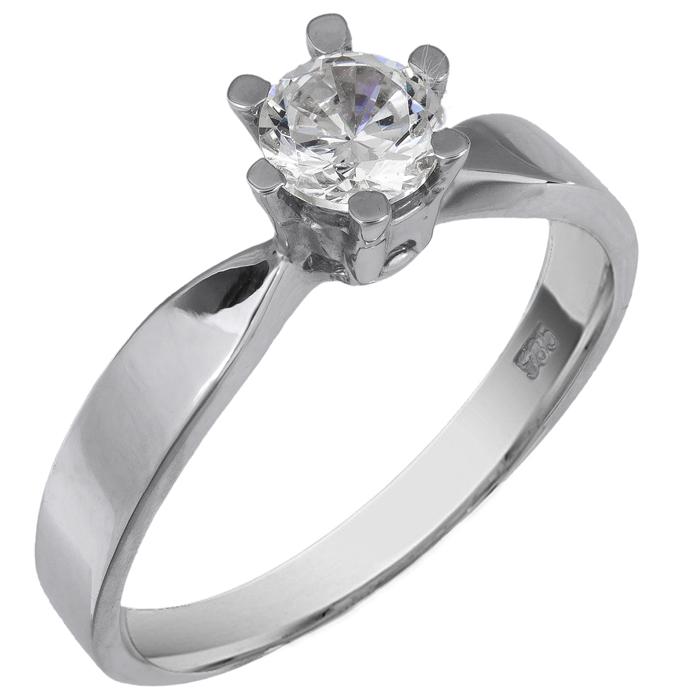 Λευκόχρυσο Δαχτυλίδι Κ14 000421 000421 Χρυσός 14 Καράτια