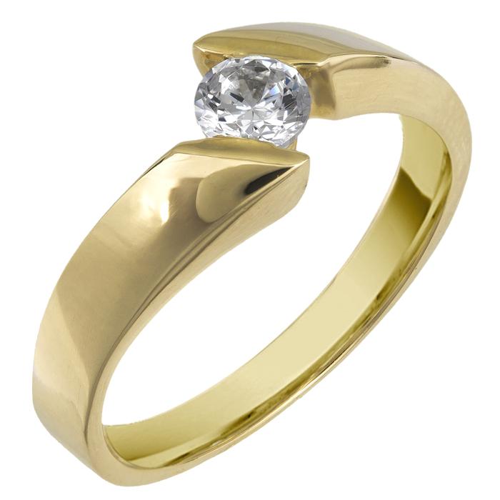 Δαχτυλίδι χρυσό 14Κ 002596 Χρυσός 14 Καράτια
