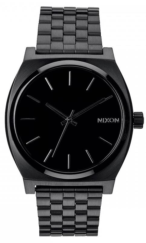 Ρολόι Nixon Time teller Black A045-001-00 A045-001-00 Ατσάλι