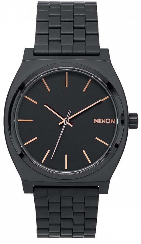 Ρολόι Nixon Time teller Bracelet Black A045-957-00 A045-957-00 Ατσάλι