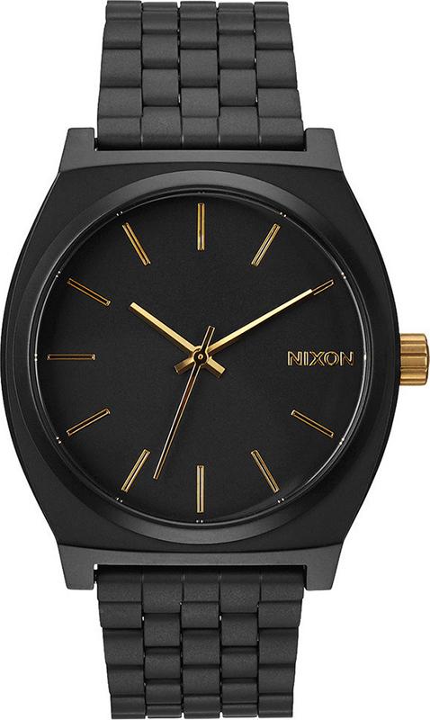 Ρολόι χειρός Nixon Time teller Bracelet Black A045-1041-00 A045-1041-00 Ατσάλι