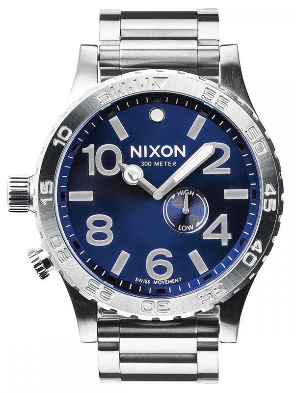 Αντρικό ρολόι Nixon 51-30 Tide Stainless Steel Bracelet A057-1258-00 A057-1258-00 Ατσάλι