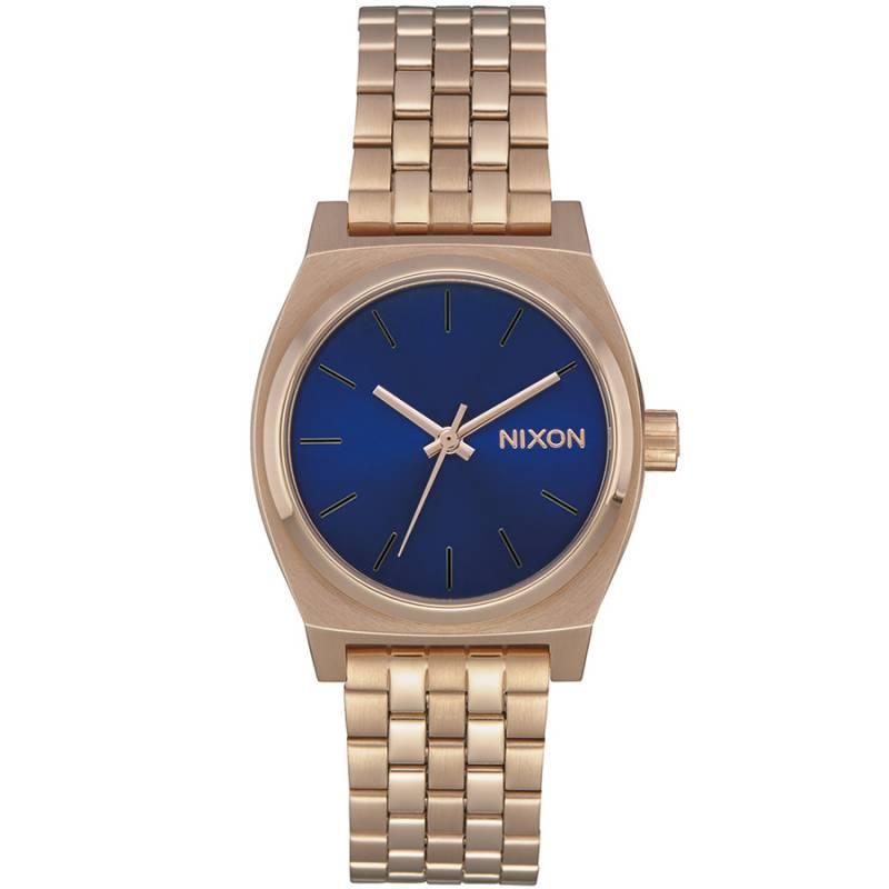 Nixon The Time Teller Medium Rose Gold Bracelet A1130-2763-00 A1130-2763-00