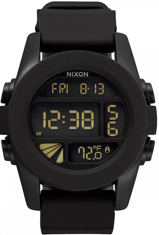 Ρολόι αντρικό Nixon Unit Digital Black A197-000-00 A197-000-00 Ατσάλι