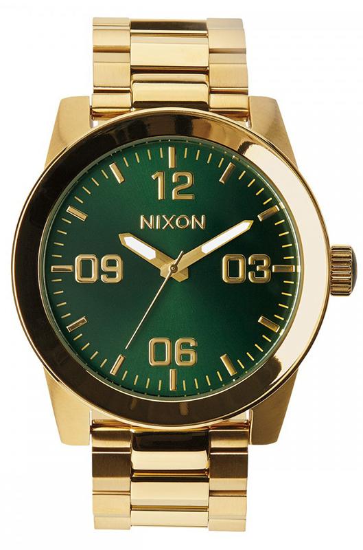 Ρολόι Nixon Corporal Gold Bracelet A346-1919-00 A346-1919-00 Ατσάλι