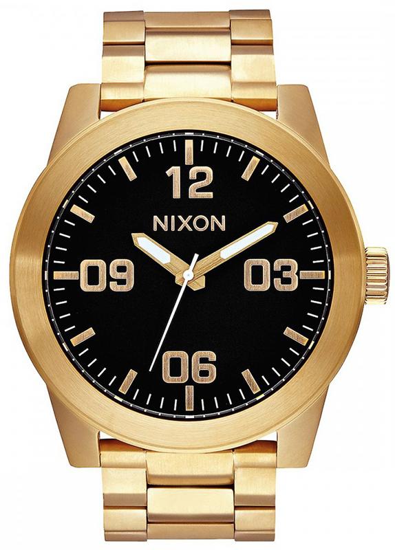 Ρολόι χειρός Nixon Gold Bracelet A346-510-00 A346-510-00 Ατσάλι