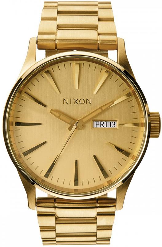 Ρολόι αντρικό Nixon Sentry Gold Bracelet A356-502-00 A356-502-00 Ατσάλι