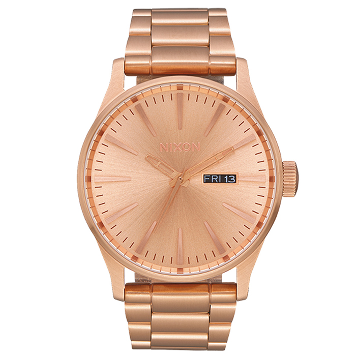 Ρολόι Nixon Sentry Rose gold SS A356-897-00 A356-897-00 Ατσάλι