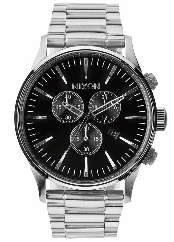 Ρολόι αντρικό Nixon Sentry Chrono Bracelet A386-000-00 A386-000-00 Ατσάλι