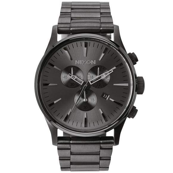 Ρολόι αντρικό Nixon Sentry Black Bracelet A386-632-00 A386-632-00 Ατσάλι