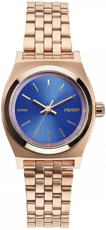 Ρολόι γυναικείο Nixon Small Time Τeller Rose Gold Bracelet A399-1748-00 A399-1748-00 Ατσάλι
