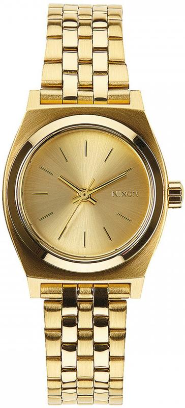Γυναικείο ρολόι Nixon Time Τeller Gold Bracelet A399-502-00 A399-502-00 Ατσάλι