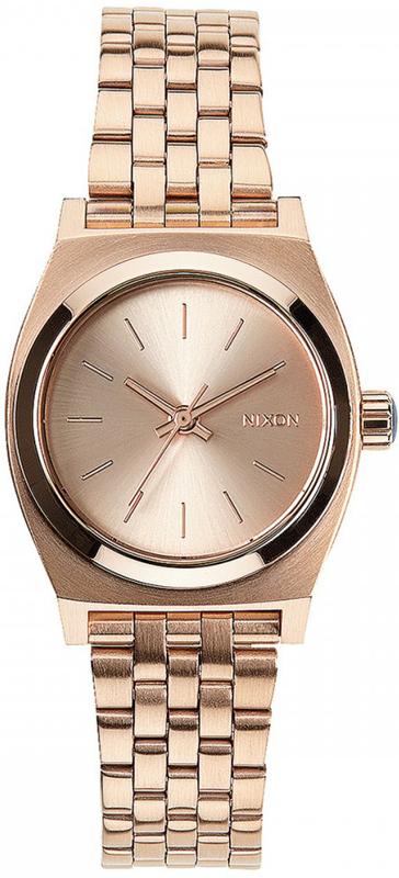 Ρολόι Nixon Small Time Τeller Rose Gold Bracelet A399-897-00 A399-897-00 Ατσάλι