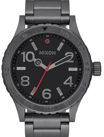 Ρολόι αντρικό Nixon 46 Black Bracelet A916-632-00 A916-632-00 Ατσάλι