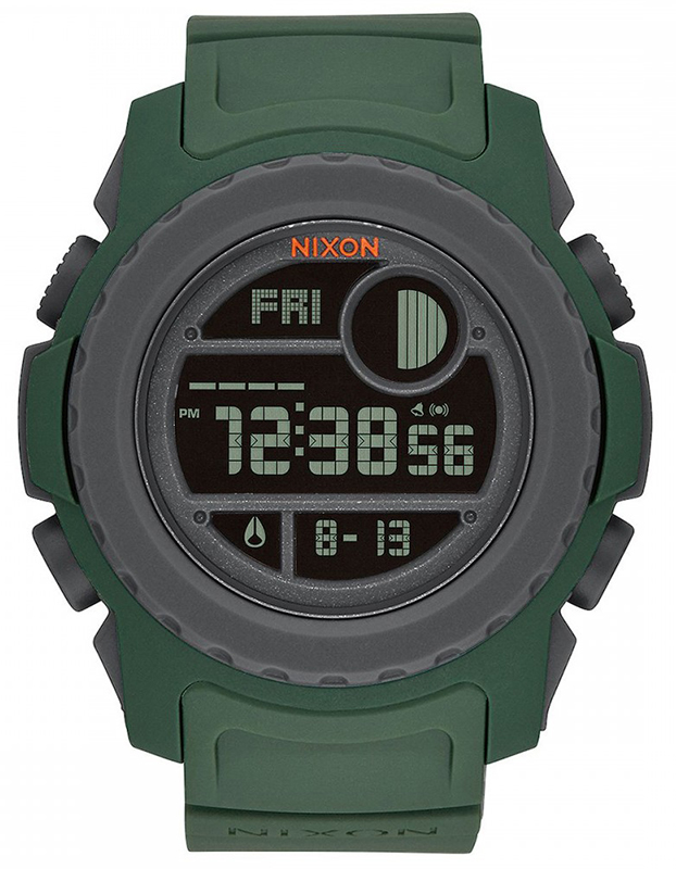 Ρολόι αντρικό Nixon Unit Digital Rubber Strap A921-2311-00 A921-2311-00