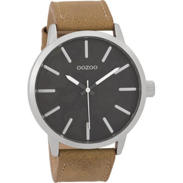 Αντρικό ρολόι OOZOO Brown Leather Strap C9600 C9600