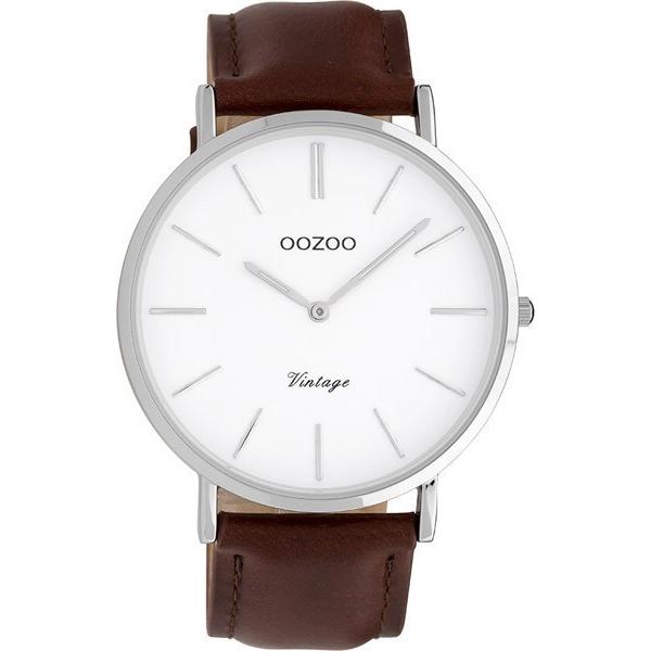 Γυναικείο ρολόι OOZOO Brown Leather strap C9830 C9830