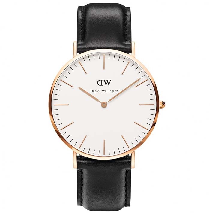 Daniel Wellington Classic Sheffield Rose gold 40,00mm 0107DW 0107DW Ατσάλι