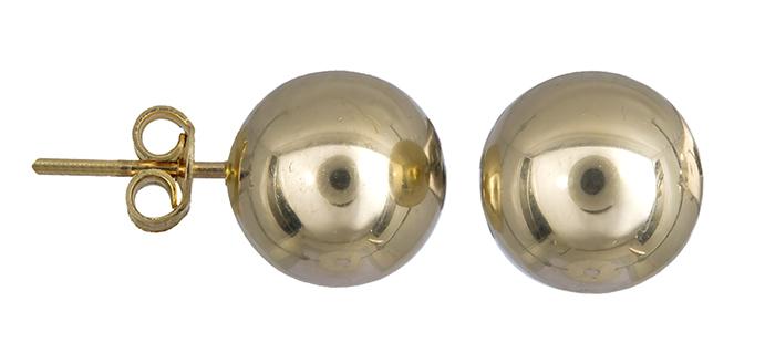 Γυναικεία σκουλαρίκια φούσκες Κ14 019875 019875 Χρυσός 14 Καράτια