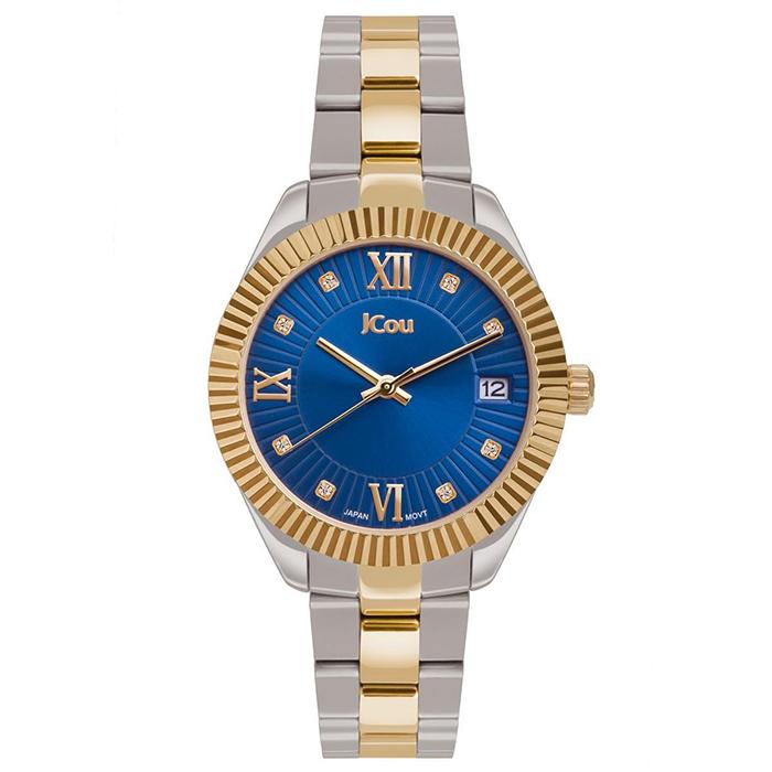 Ρολόι δίχρωμο JCou Queen's Mid Bracelet JU16058-5 JU16058-5 Ατσάλι
