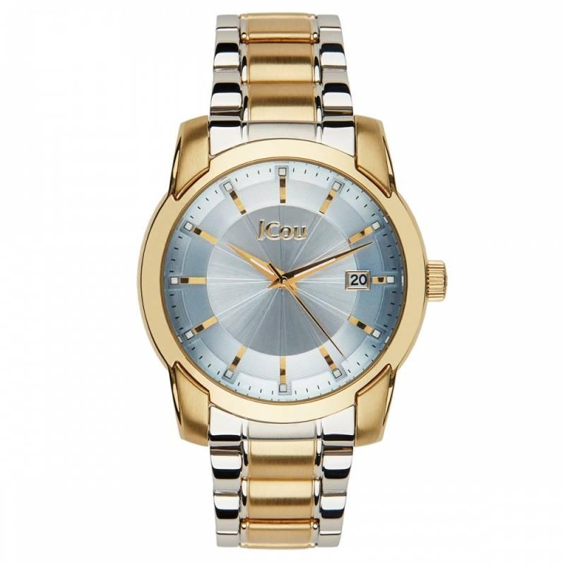 Δίχρωμο ρολόι Jcou Sunlight Bracelet JU14488JSTG-19M JU14488JSTG-08M Ατσάλι ρολόγια jcou