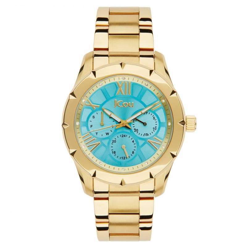 Γυναικείο ρολόι Jcou Island Gold Bracelet JU14490JSG-08M JU14490JSG-08M