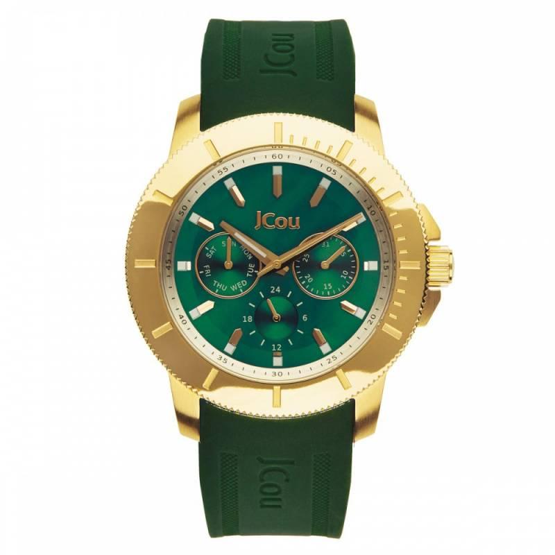 Γυναικείο ρολόι Jcou Sea Cost Green JU14512JSG-41 JU14512JSG-41 Ατσάλι ρολόγια jcou