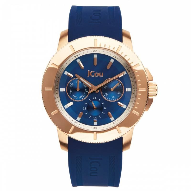 Γυναικείο ρολόι Jcou Sea Cost Blue JU14512JSR-46 JU14512JSR-46 Ατσάλι ρολόγια jcou