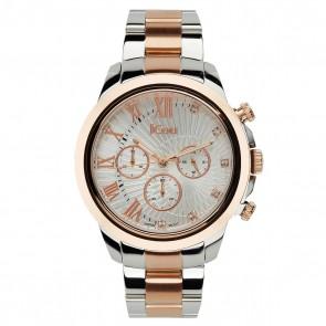 Δίχρωμο ρολόι JCou South Coast Bracelet JU15041-1 JU15041-1 Ατσάλι