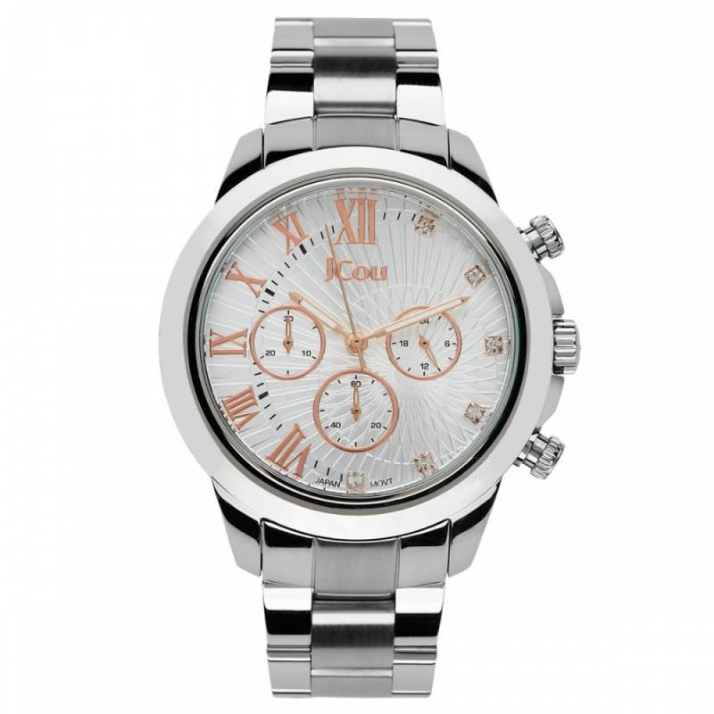 Ρολόι χειρός JCou South Coast Bracelet JU15041-2 JU15041-2 Ατσάλι ρολόγια jcou