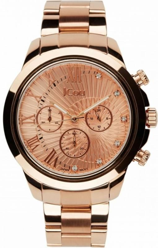 Γυναικείο ρολόι JCou South Coast Rose gold Bracelet JU15041-3 JU15041-3 Ατσάλι
