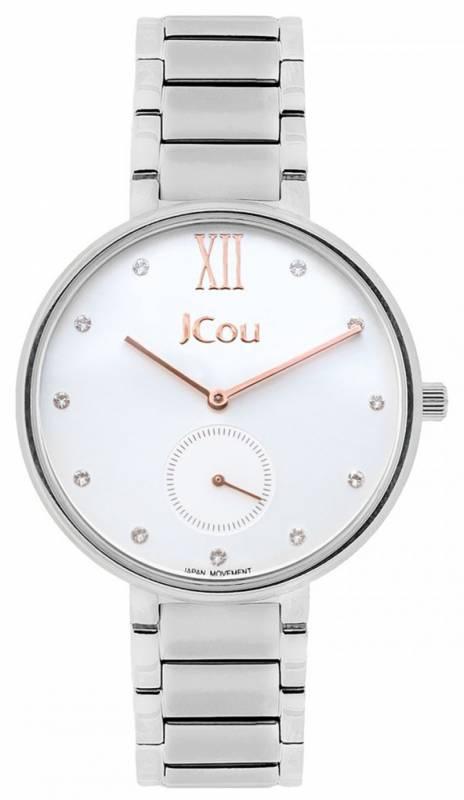 Γυναικείο ρολόι JCou Majesty Bracelet JU15045-1 JU15045-1 Ατσάλι