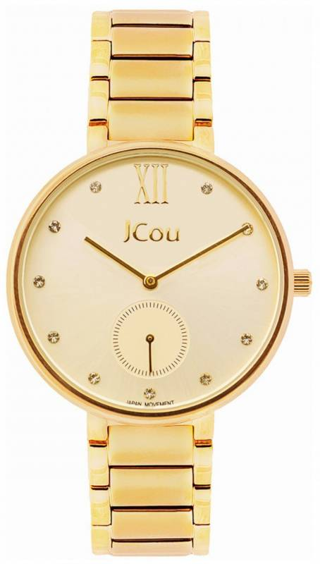 Ρολόι JCou Majesty gold Stainless Steel Bracelet JU15045-2 JU15045-2 Ατσάλι