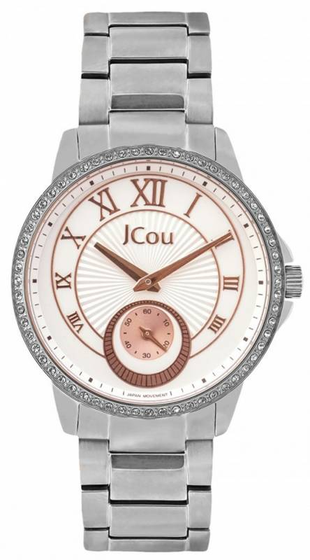 Ρολόι JCou Royal Stainless Steel Bracelet JU15046-1 JU15046-1 Ατσάλι