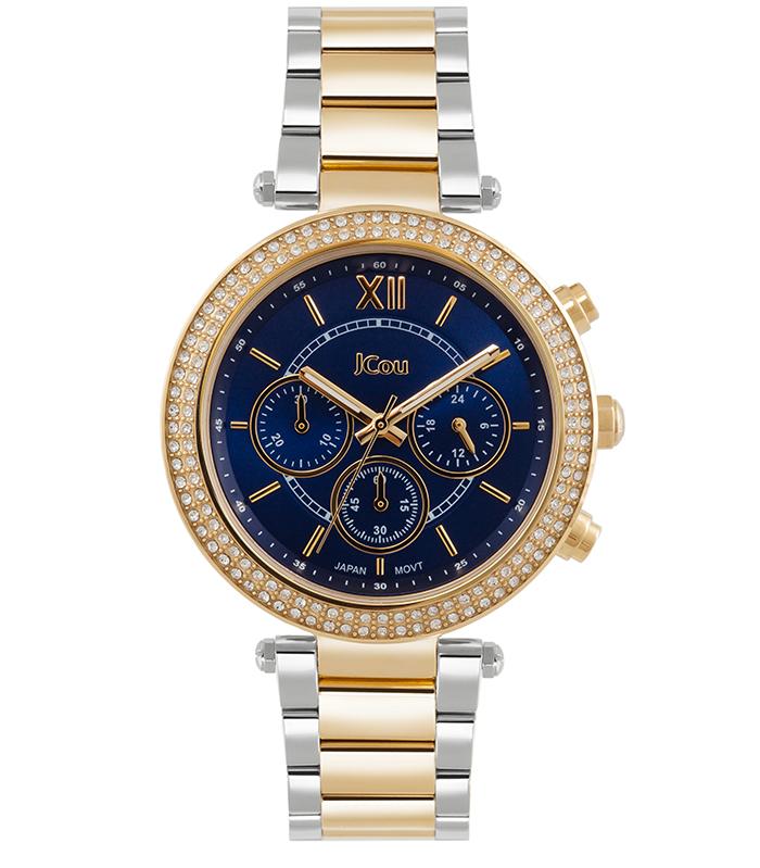 JCou δίχρωμο ρολόι Lady D Bracelet JU16017-4 JU16017-4 Ατσάλι