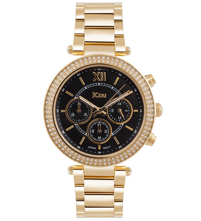 Ρολόι γυναικείο JCou Lady D Bracelet JU16017-5 JU16017-5 Ατσάλι