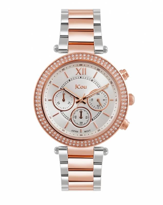 JCou γυναικείο ρολόι Lady D Bracelet JU16017-6 JU16017-6 Ατσάλι