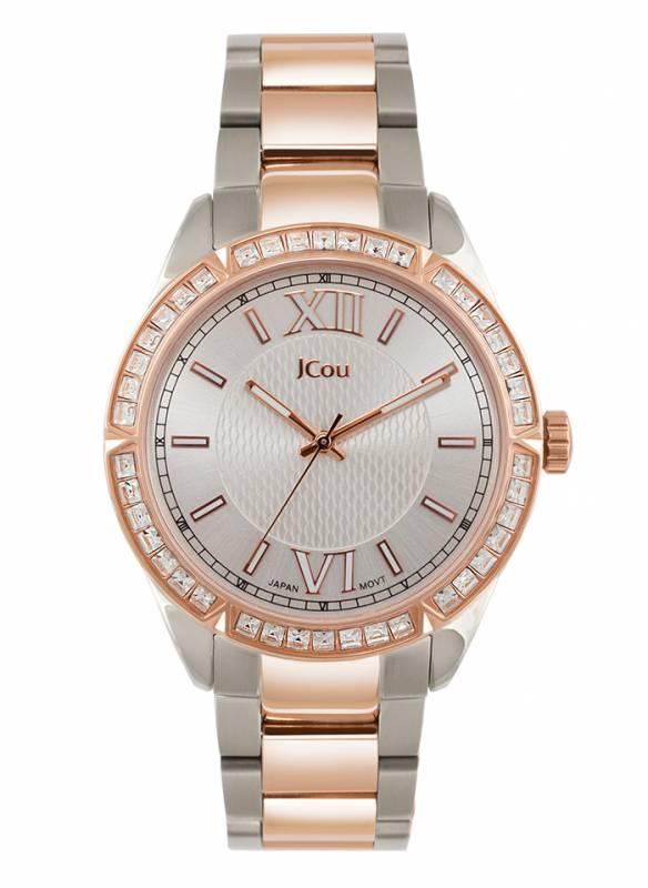 Γυναικείο ρολόι Jcou Bracelet two tone JU16018-4 JU16018-4