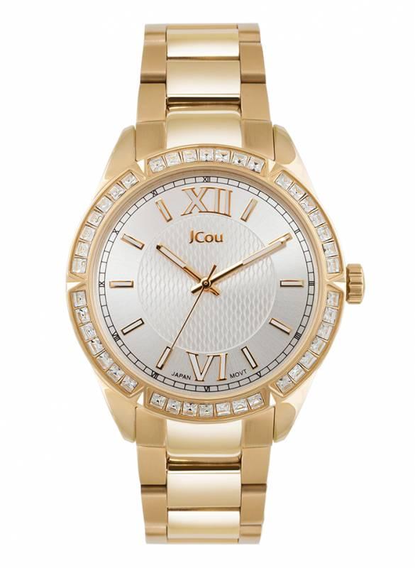 Ρολόι χειρός Jcou Gold Bracelet JU16018-6 JU16018-6